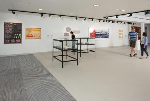 Installation view of Scales of Life. Photo Ruth Clark 2014.